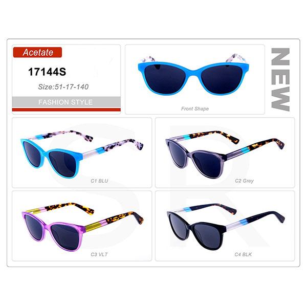 New Classic Design Small Order Acetate Frame Sunglasses