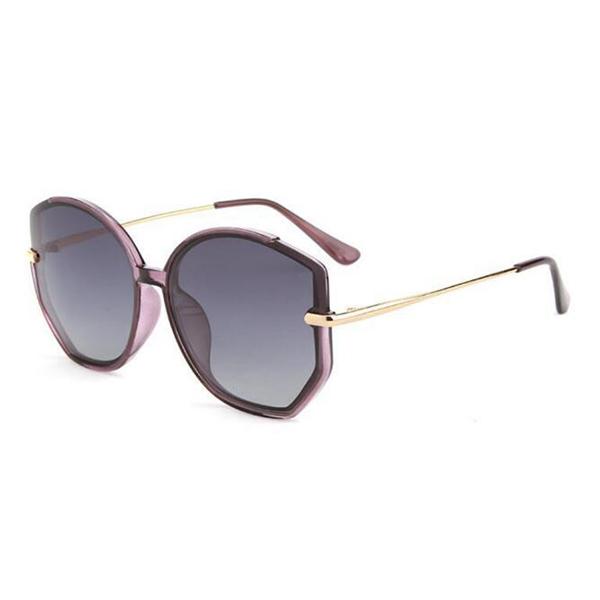 New Design Acetate Frame Purple Sunglasses