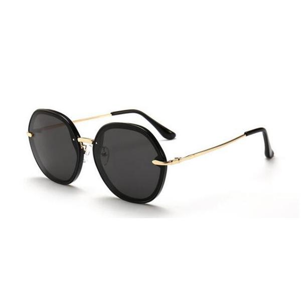 New Design Square Vintage Acetate Frame Sunglasses