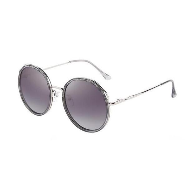 New Design Transparent Pink Acetate Frame Sunglasses