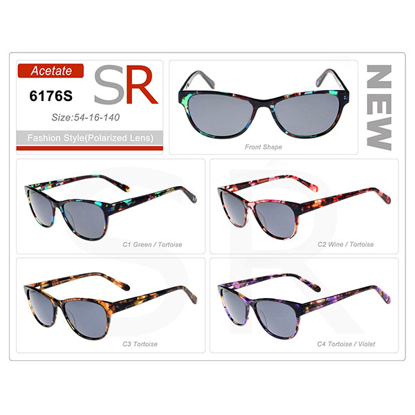New Design Model Frame Acetate Small Order Sunglasses