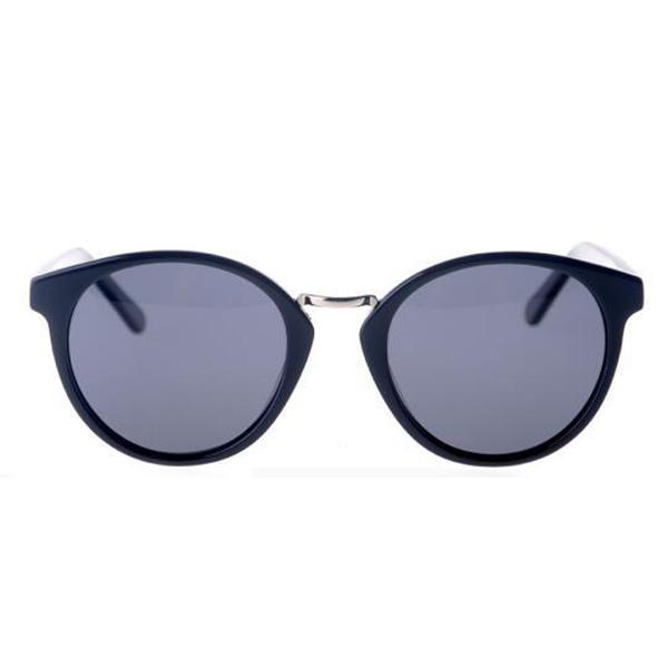 New Design Product Round Vintage Acetate Frame Sunglasses