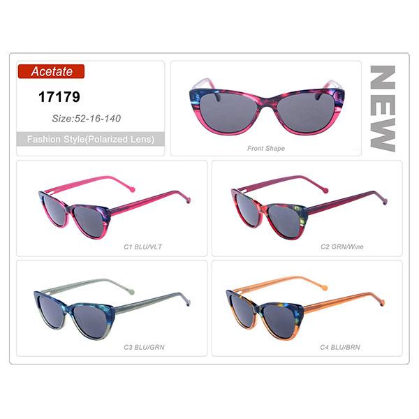 New Design Ready Stock Acetate Frame Sunglasses