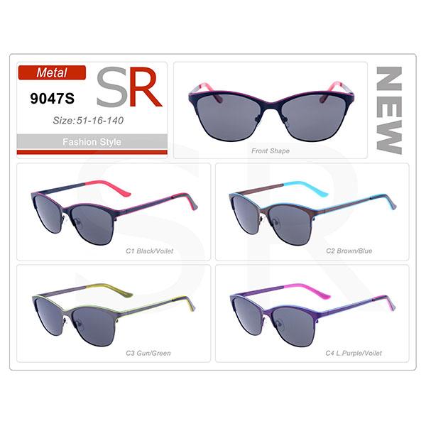 New Designer Frame Ready Stock Acetate Small Order Sunglasses