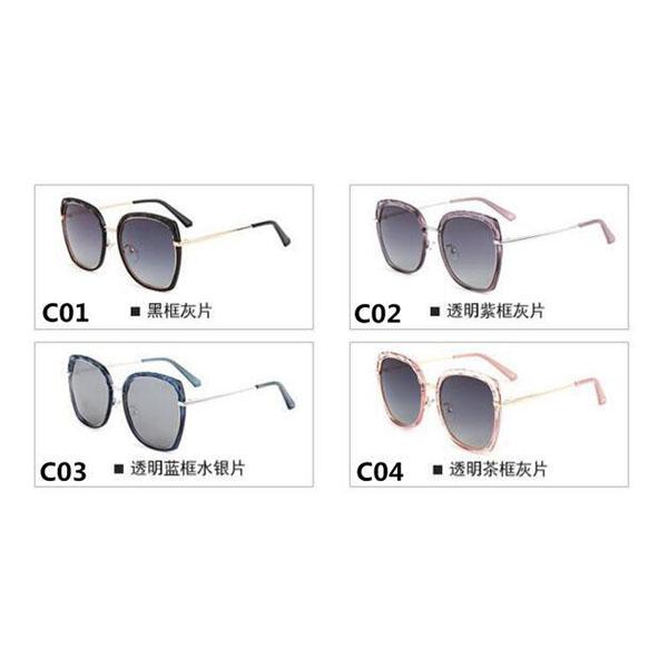 New Fashion Model Acetate Frame Square Sunglasses
