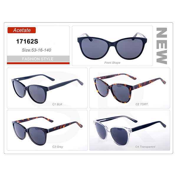 New Model Small Order Acetate Frame Sunglasses