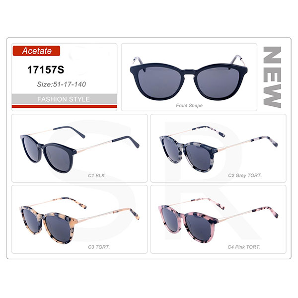 New Small Order Acetate Frame Sunglasses