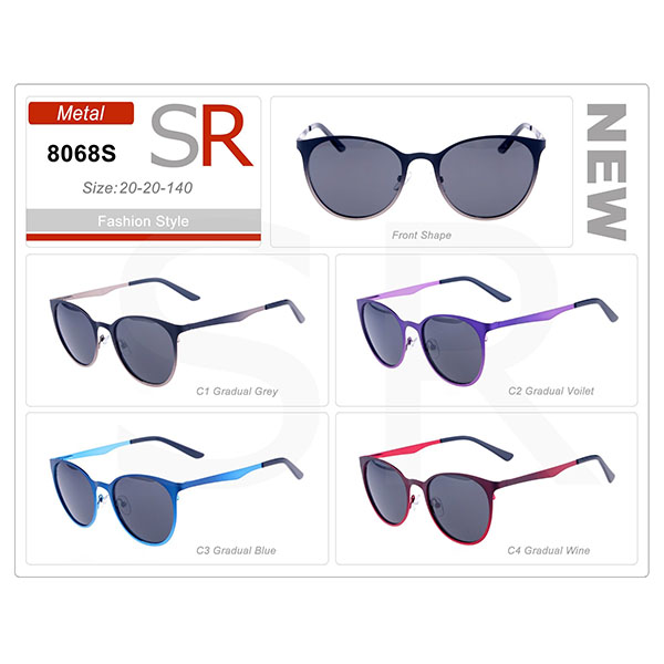 New Style Frame Acetate Small Order Sunglasses