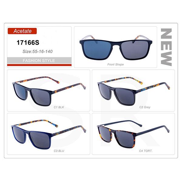 New Good Small Order Acetate Frame Sunglasses