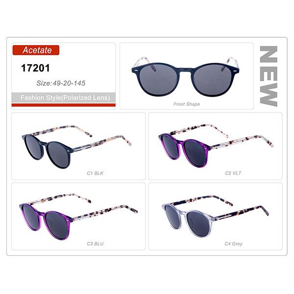 New Model Style Acetate Frame trendy Sunglasses
