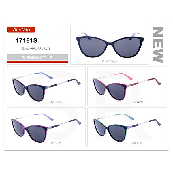New Popular Production Small Order Acetate Frame Sunglasses