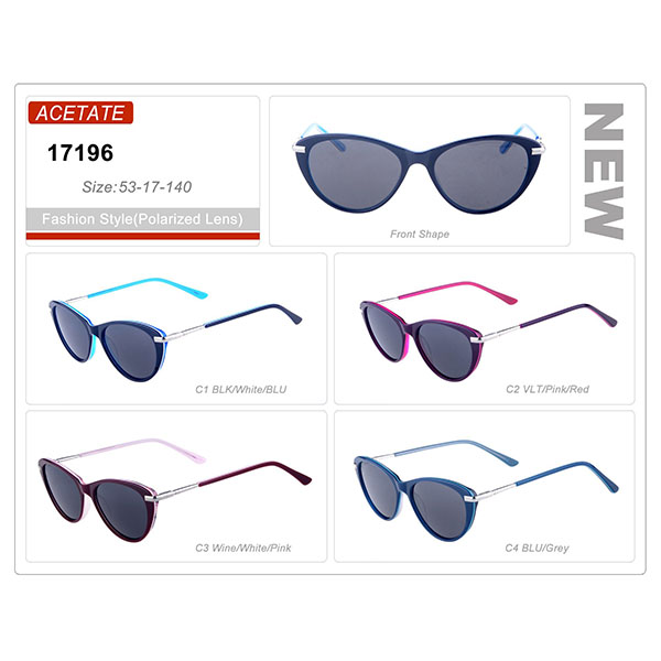New Product Ready Stock Acetate Frame Sunglasses