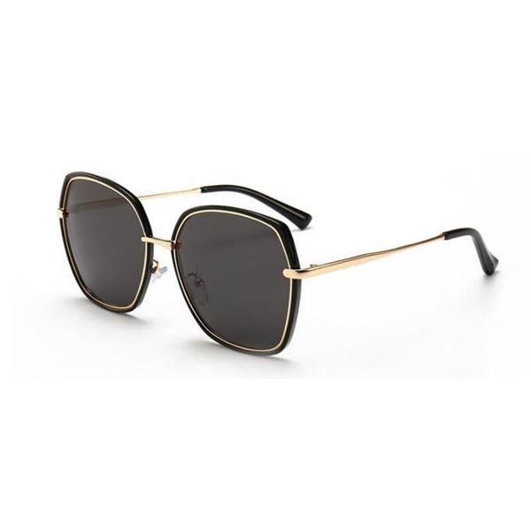 New Style Designer Acetate Frame Black UV400 Sunglasses