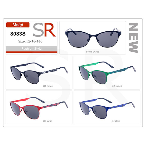 New Style Design Frame Acetate Small Order Sunglasses