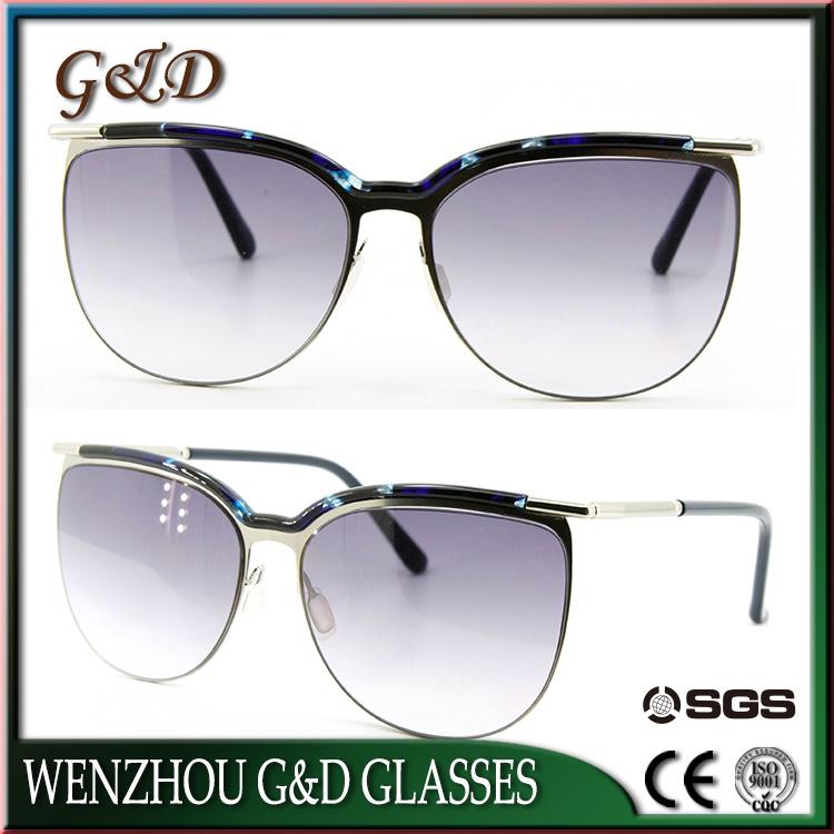 New Style Model Make Order Frame Vintage Polarized Sunglasses