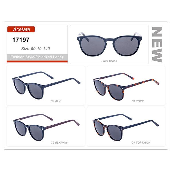 New Style Product Ready Stock Acetate Frame Polarized Sunglasses