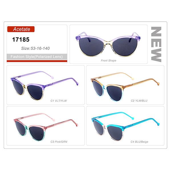 New Style Ready Stock Acetate Frame Polarized Sunglasses