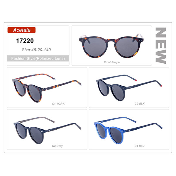 New Model Ready Stock Acetate Frame Sunglasses