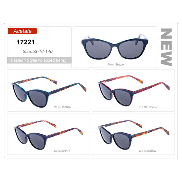 New Style Ready Stock Acetate Frame Sunglasses