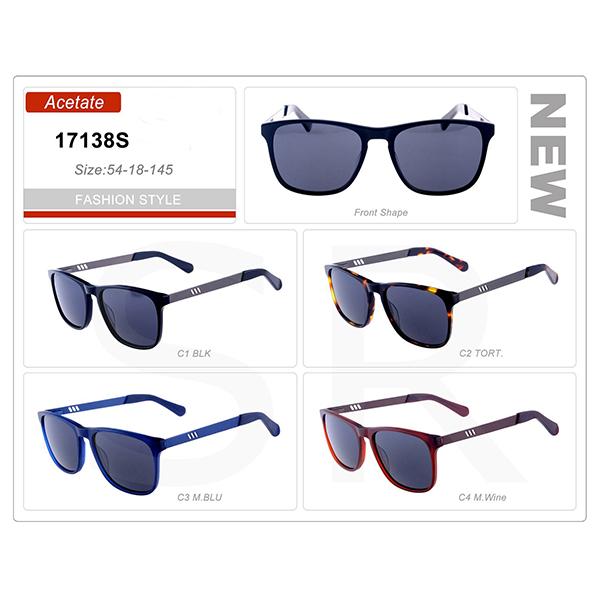 Newest Design Small Order Acetate Frame Sunglasses