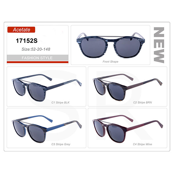 Popular Product Small Order Acetate Frame Sunglasses