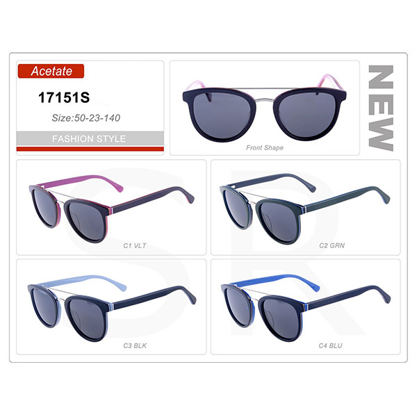 Popular Style Small Order Acetate Frame Sunglasses