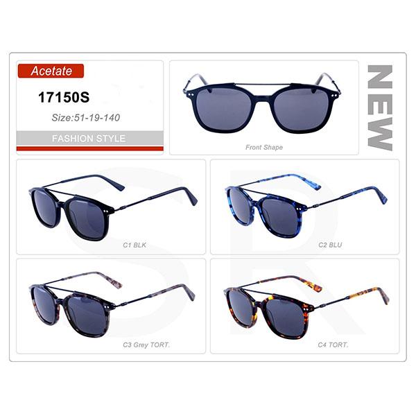 Latest Model  Small Order Acetate Frame Sunglasses