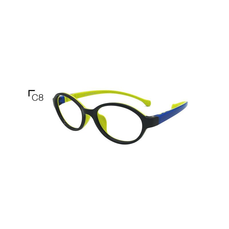 2021 Popular Fashion Design Tr Kids Eyewear Flexible Light Eyewear Optical Frame