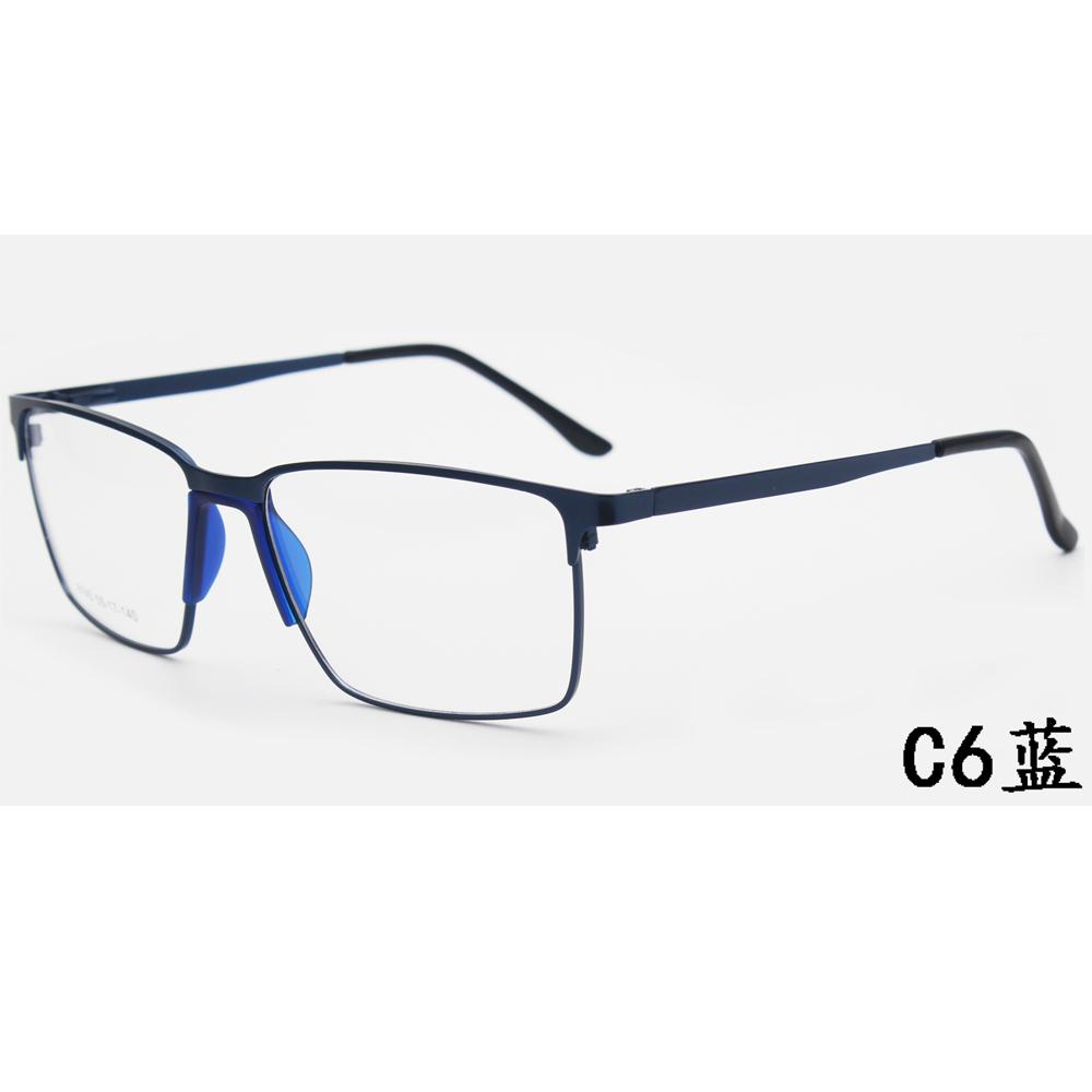 Wholesale Women Men Anti Blue Light Blocking Glasses Eyeglasses Frames Metal Computer Blue Light Filter Gaming Glasses