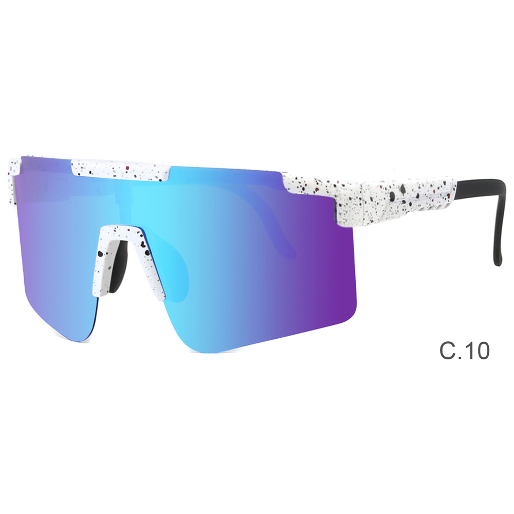 2021 New Custom Sun Glasses Sunglasse Luxury Womens Clear Rimless Oversized Big Square Frame Shades
