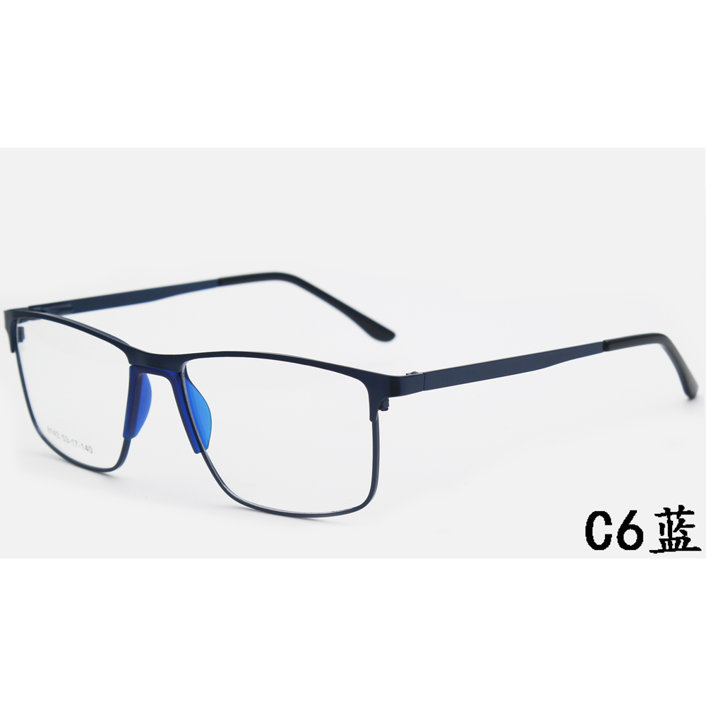 Optical Frame New Fashion Style for Women Metal Eye Glasses Special Plate Colorful Eyewear