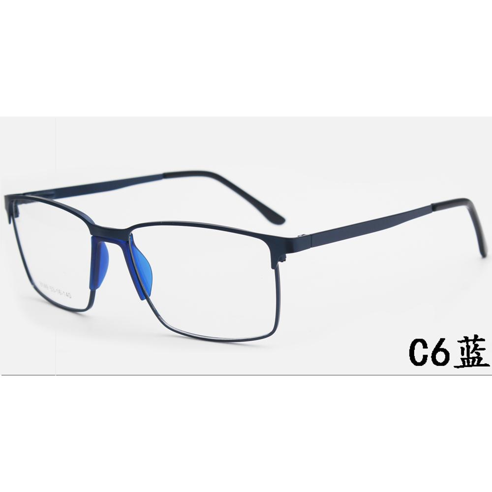 Metal Glasses Frames Computer Glasses Fashion Eyeglasses Pc Optical Glasses Injection
