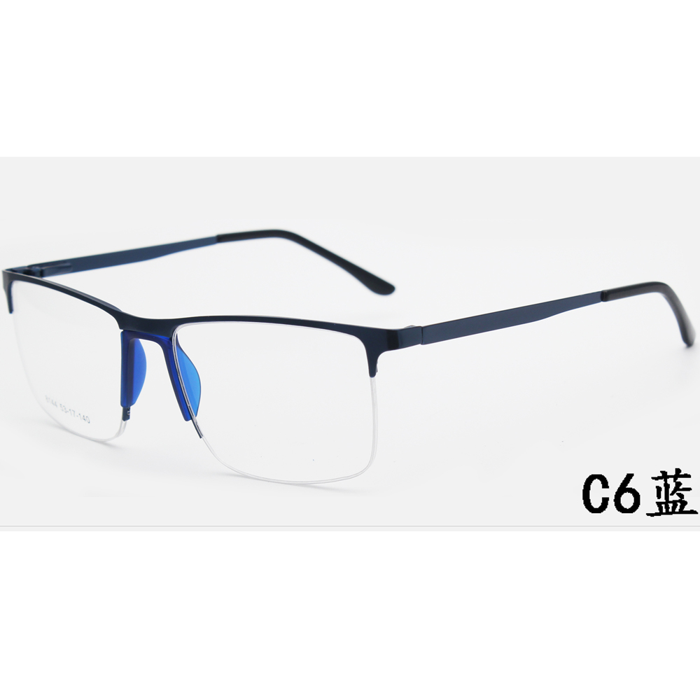 New Design Anti Blue Light Glasses Frames Men Women Optical Metal Glasses