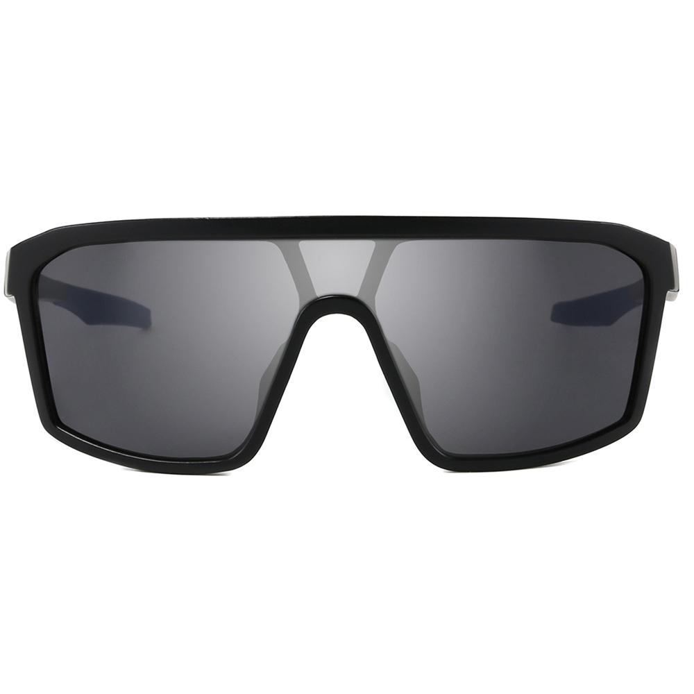 Eyewear Fashion 2021 Oversized Steampunk Square Big Frame One-piece Lens Designer Women Shades Sunglasses