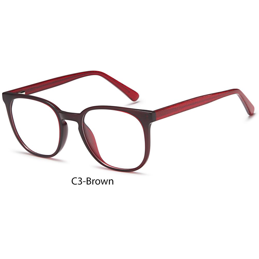 2021 Fashion Acetate Design Square Eyeglasses Optical Eyewear Glasses Frames