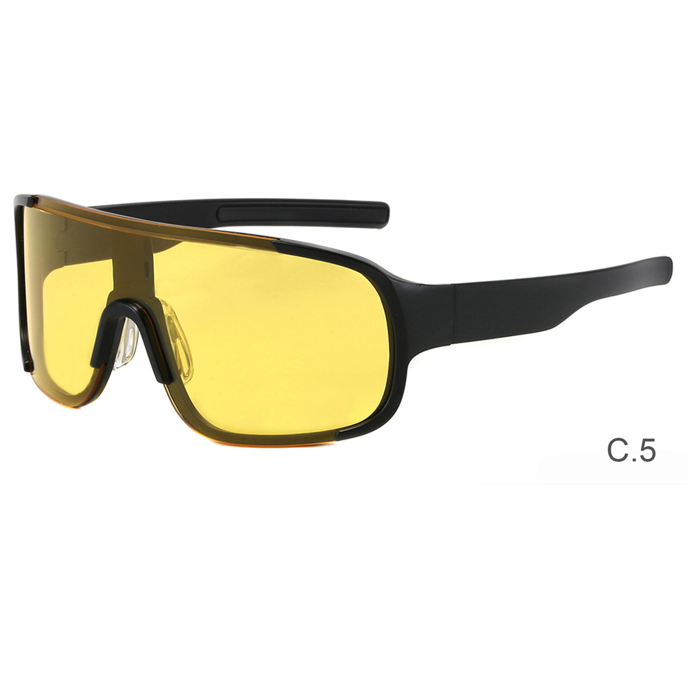 Plastic Big Square Frame Oversized Colorful Custom Fashion Trendy Women Men Sun Glasses Shades Sunglasses 2021