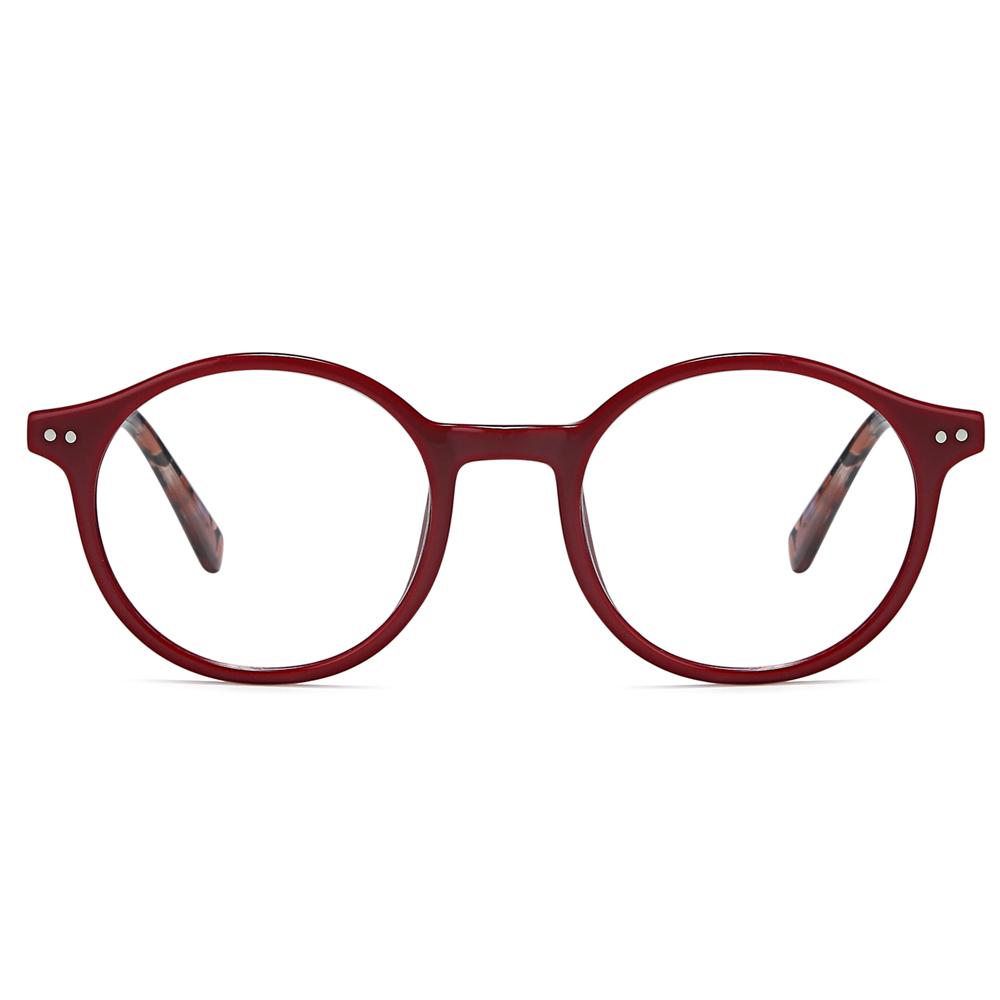 2021 Custom Classic Trendy Suqare Frames Anti Blue Light Blocker Filter Eye Acetate Optical Glasses