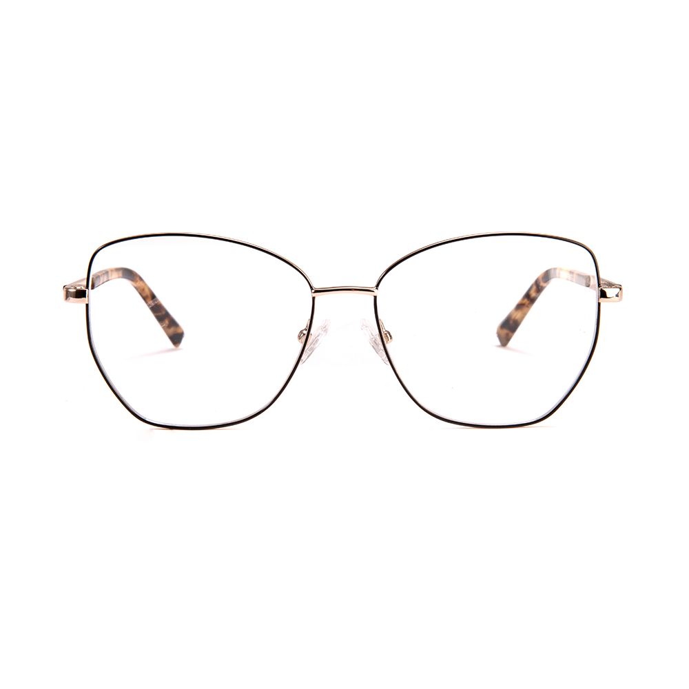 Classic Style Make Order Metal Red Optical Frame
