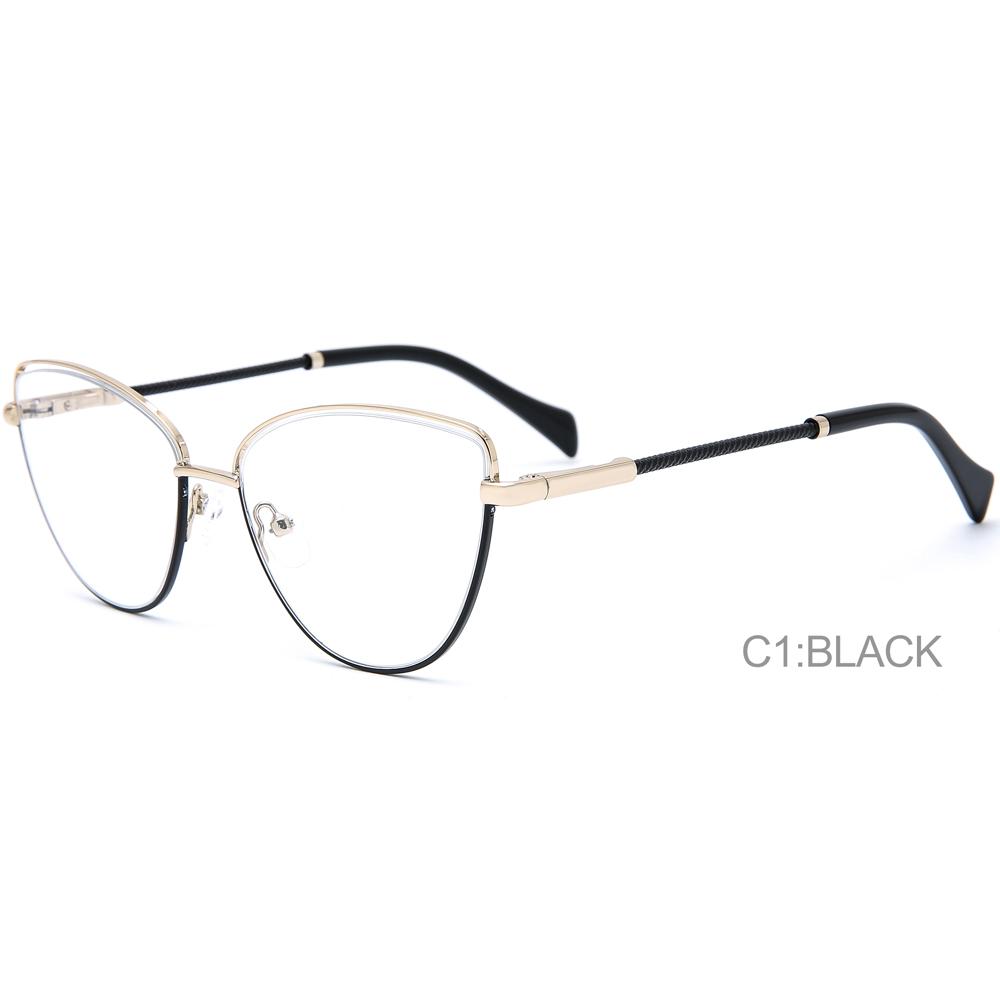 Glasses Fashion Anti Blue Light Shading Glasses Neutral Quality Fashionable Eye Metal Frames.