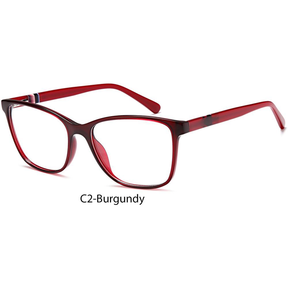 2021 New Design Lamination Cat Eye Acetate Eyeglasses Women Optical Frame Wholesale