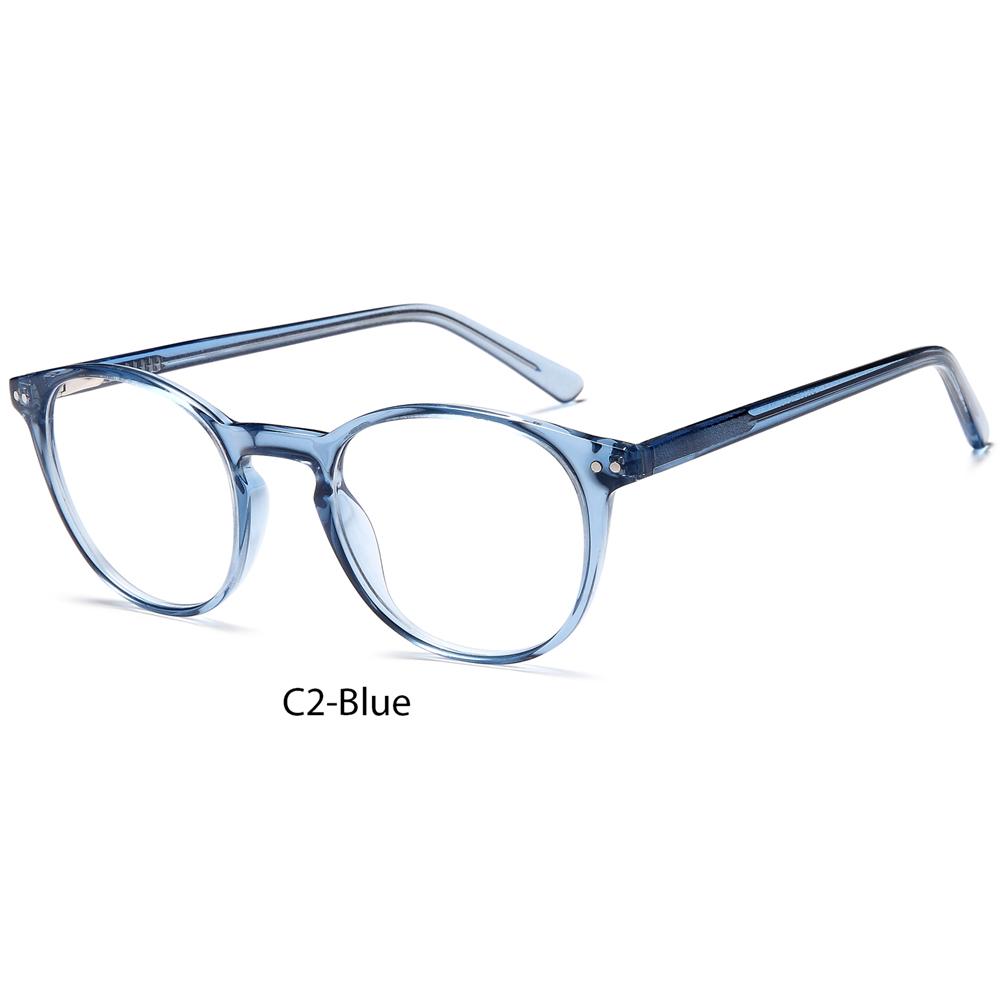 2021 Custom Unisex Spectacle Crystal Eyeglass Acetate Optical Frame