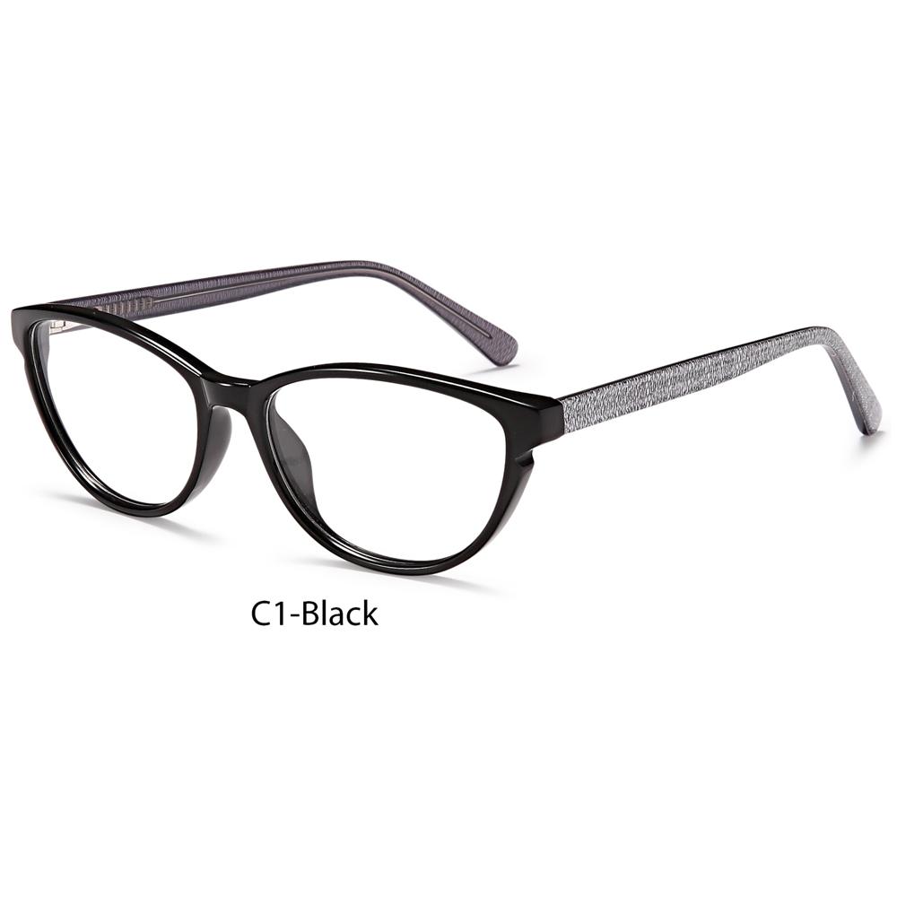 2021 High Quality Custom Fashion Square Acetate Anti-blue Light Optical Glasses Frame Unisex