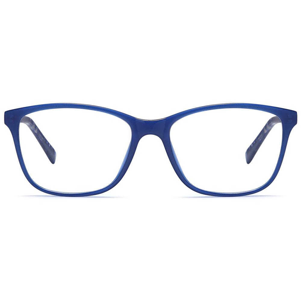 2021 Glasses Eyewear Fashion Anti Blue Light  Acetate Injection Optical Frame